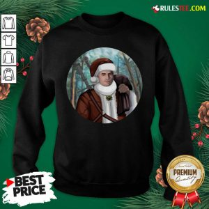 Awesome The Witcher Santa Crewneck Sweatshirt - Design By Rulestee.com