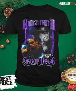 Awesome Undertaker Original Icons Snoop Dogg Shirt - Design By Rulestee.com