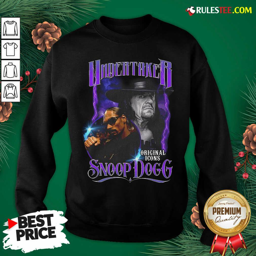 Awesome Undertaker Original Icons Snoop Dogg Sweatshirt - Design By Rulestee.com