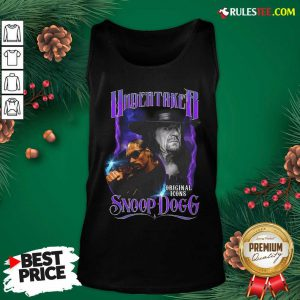 Awesome Undertaker Original Icons Snoop Dogg Tank Top - Design By Rulestee.com