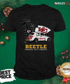 Volkswagen Beetle Kansas City Chiefs Shirt- Design By Rulestee.com
