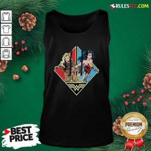 Wonder Woman 1984 Cartoon Tank Top - Design By Rulestee.com