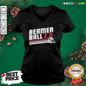 Beamer Ball South Carolina V-neck - Design By Rulestee.com