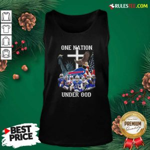 Buffalo Bills One Nation Under God American Flag Tank Top - Design By Rulestee.com