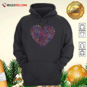 Heart Butterfly Hoodie - Design By Rulestee.com