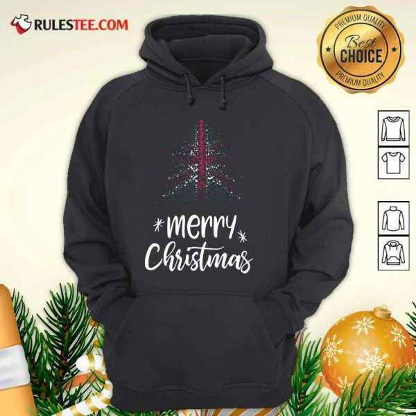 Merry Christmas English Hoodie - Design By Rulestee.com