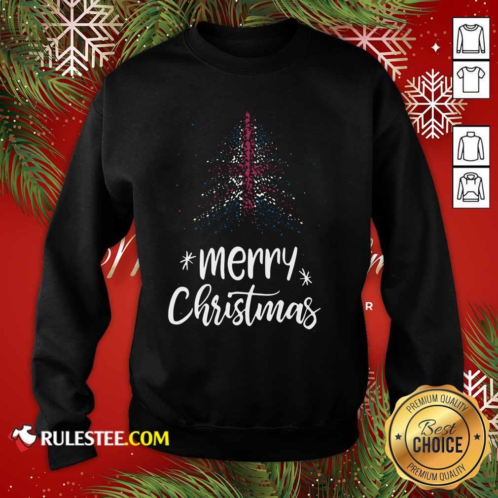 Merry Christmas English Sweatshirt - Design By Rulestee.com