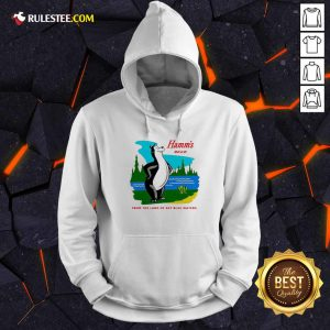 Hamm's Beer From The Land Of Sky Blue Waters Hoodie - Design By Rulestee.com