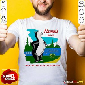 Hamm's Beer From The Land Of Sky Blue Waters Shirt - Design By Rulestee.com