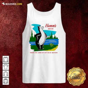 Hamm's Beer From The Land Of Sky Blue Waters Tank Top - Design By Rulestee.com
