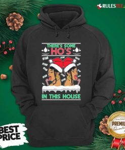There's Some Hos In This House Unisex Hoodie- Design By Rulestee.com