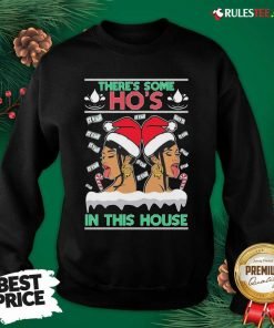 There's Some Hos In This House Unisex Sweatshirt - Design By Rulestee.com