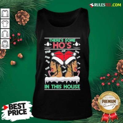 There's Some Hos In This House Unisex Tank Top - Design By Rulestee.com