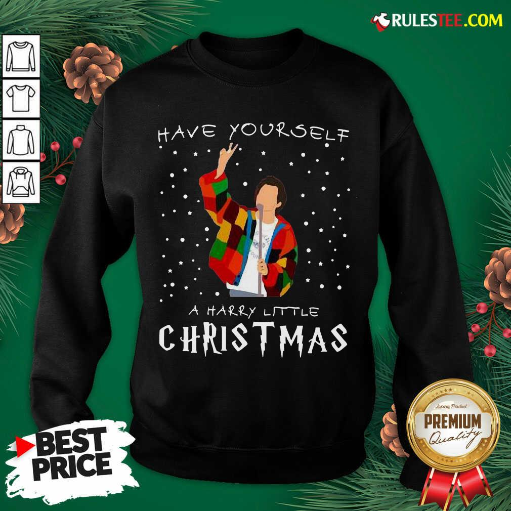 Great Awesome Xmas Have Yourself A Harry Styles Christmas Sweatshirt - Design By Rulestee.com