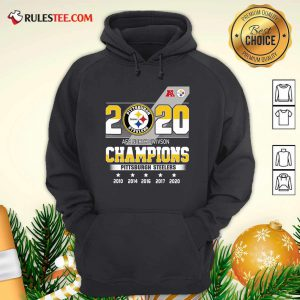 2020 AFC North Division Champions Pittsburgh Steelers Hoodie - Design By Rulestee.com