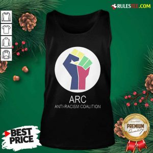 ARC Anti-racism Coalition Tank Top - Design By Rulestee.com