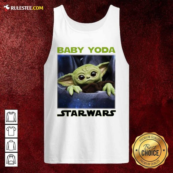 Baby Yoda Star Wars Tank Top - Design By Rulestee.com