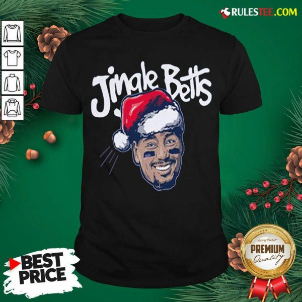 Hot Jingle Betts Merry Christmas T-Shirt - Design By Rulestee.com