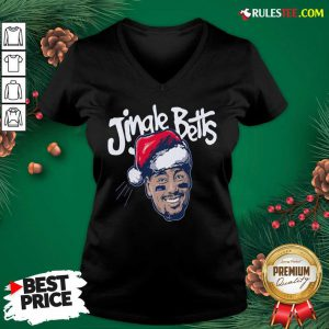 Hot Jingle Betts Merry Christmas V-neck - Design By Rulestee.com