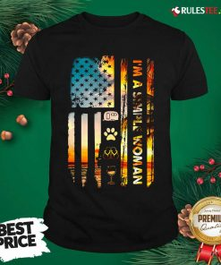 American Flag I'm A Simple Woman I Love Camping Dog Flip Flop And Wine Shirt - Design By Rulestee.com