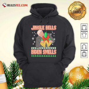 Jingle Bells Biden Smells Ugly Christmas 2020 Hoodie - Design By Rulestee.com