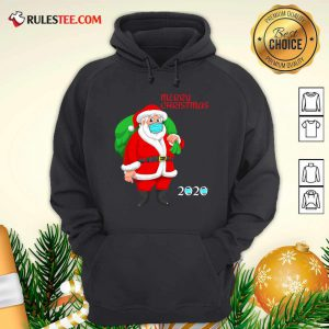 Mask Christmas Mask Santa Claus 2020 Hoodie - Design By Rulestee.com