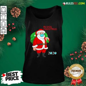 Mask Christmas Mask Santa Claus 2020 Tank Top - Design By Rulestee.com
