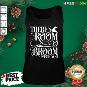 There Room On My Broom For You Witch Halloween Tank Top - Design By Rulestee.com