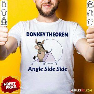 Donkey Theorem Angle Side Side Shirt - Design By Rulestee.com