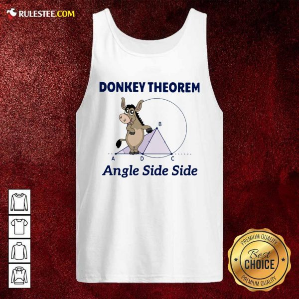 Donkey Theorem Angle Side Side Tank Top - Design By Rulestee.com