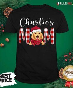 Official Golden Retriever Charlie's Mom Christmas Shirt - Design By Rulestee.com