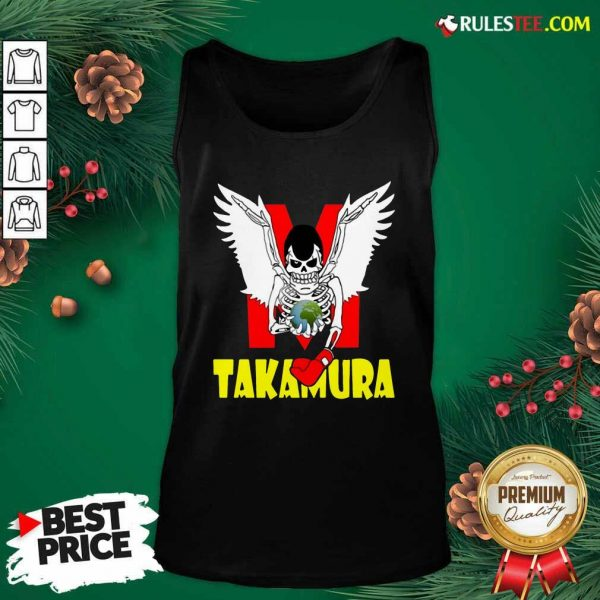 Hajime No Ippo Takamura Tank Top - Design By Rulestee.com