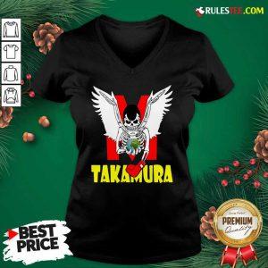 Hajime No Ippo Takamura V-neck - Design By Rulestee.com