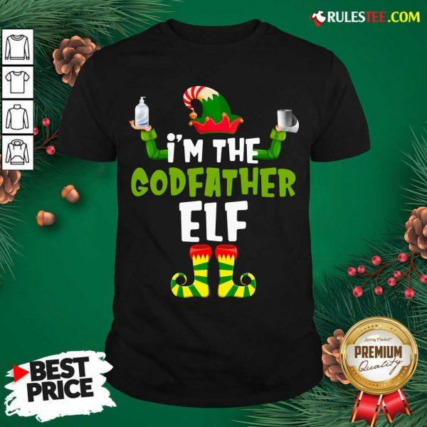 Official Im The Godfather Elf Quarantine Matching Christmas Shirt - Design By Rulestee.com