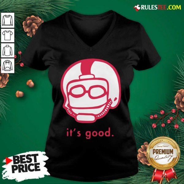 Official Its Good Rodrigo Blankenship V-neck - Design By Rulestee.com