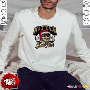 Kittle Saint Nick Sweatshirt- Design By Rulestee.com