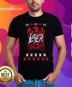 Slayer Eagle Skull Shirt - Design By Rulestee.com