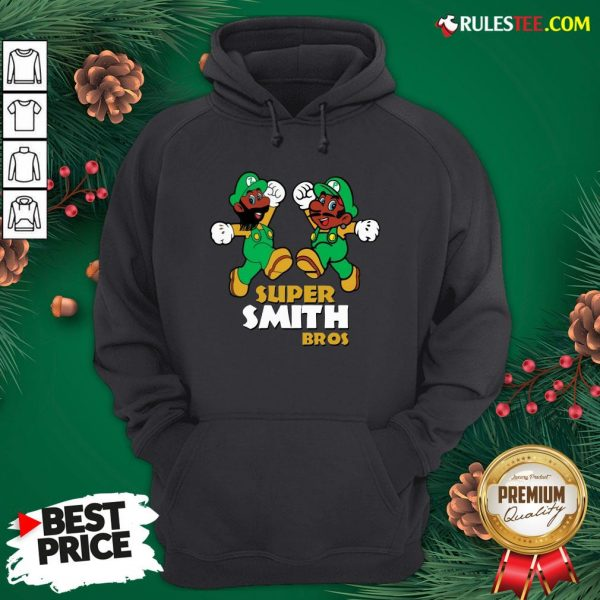 Official Super Smith Bros Hoodie - Design By Rulestee.com