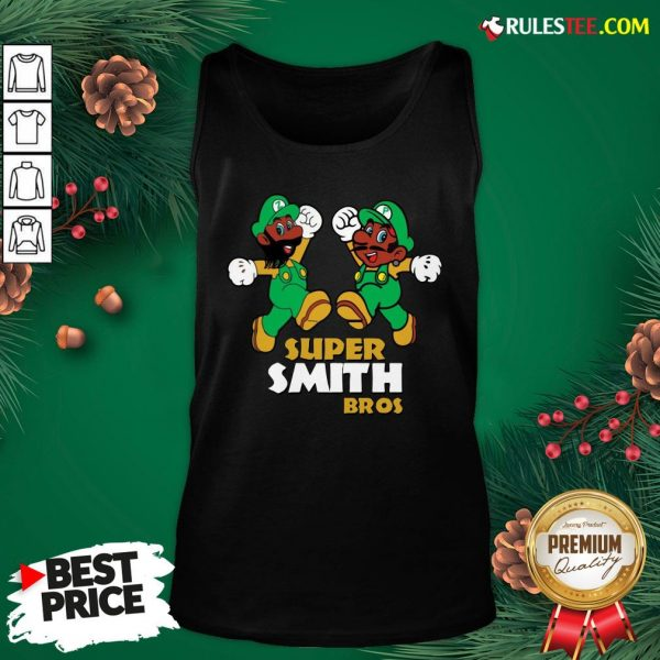 Official Super Smith Bros Tank Top - Design By Rulestee.com