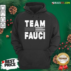 Team Fauci Face Mask American Flag Hoodie - Design By Rulestee.com