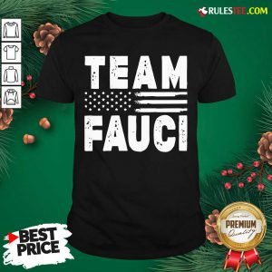 Team Fauci Face Mask American Flag Shirt - Design By Rulestee.com