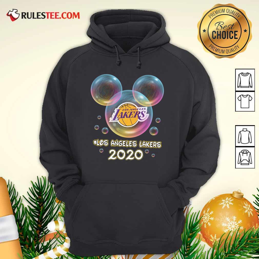 Los Angeles Lakers Mickey Disney Hoodie- Design By Rulestee.com
