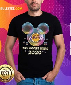 Los Angeles Lakers 2020 Mickey Disney Shirt- Design By Rulestee.com