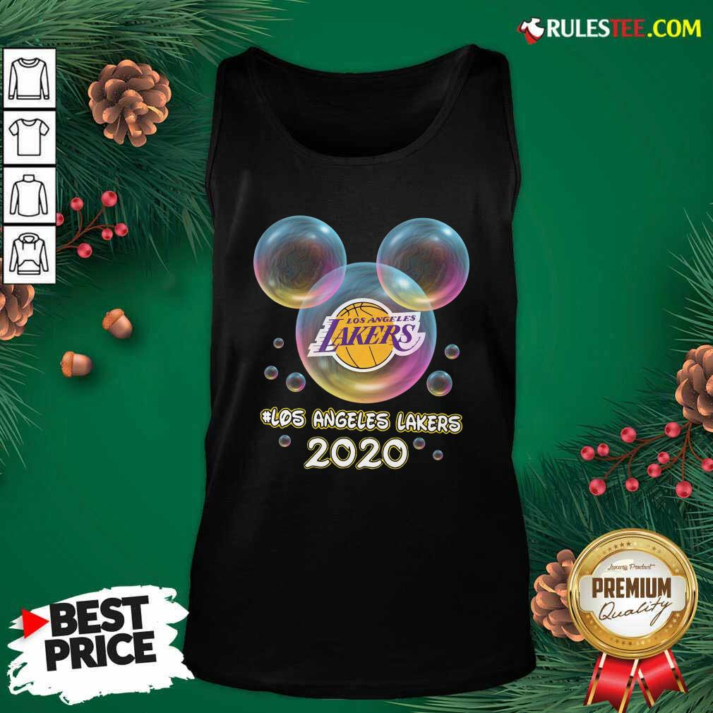 Los Angeles Lakers 2020 Mickey Disney Tank Top- Design By Rulestee.com