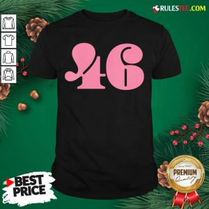 President 46 Number Pink Trump Biden Election Shirt- Design By Rulestee.com