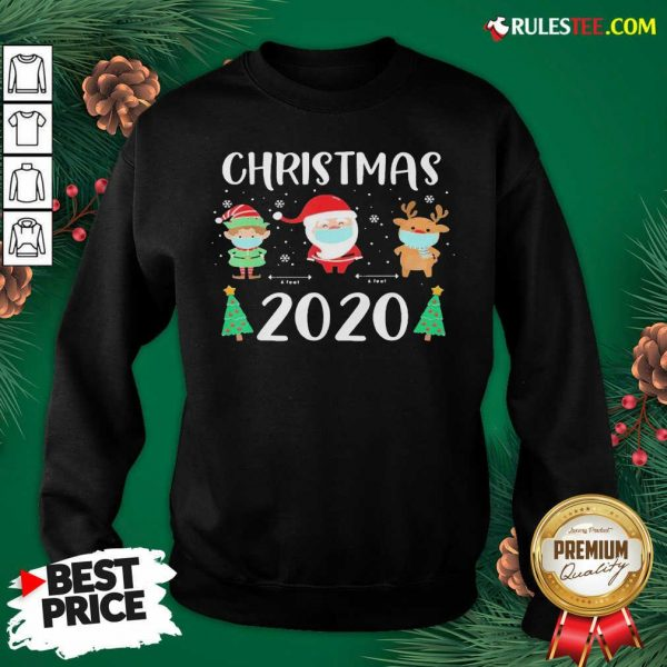 Perfect Christmas Quarantine Face Mask 2020 Christmas Sweatshirt - Design By Rulestee.com
