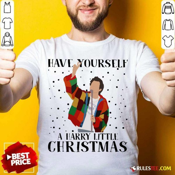 Harry Styles Have Yourself A Harry Little Christmas 2020 Shirt - Design By Rulestee.com