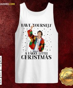 Harry Styles Have Yourself A Harry Little Christmas 2020 Tank Top - Design By Rulestee.com