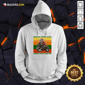Motorcycle Sons Of Santa Claus North Pole Chapter Christmas Hoodie - Design By Rulestee.com