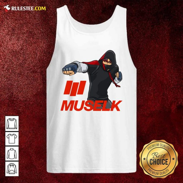 Muselk Punch Red Tank Top - Design By Rulestee.com